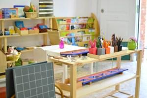 Matériel d'activités Montessori