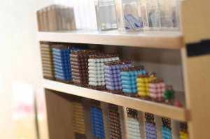 Le cabinet de perles Montessori