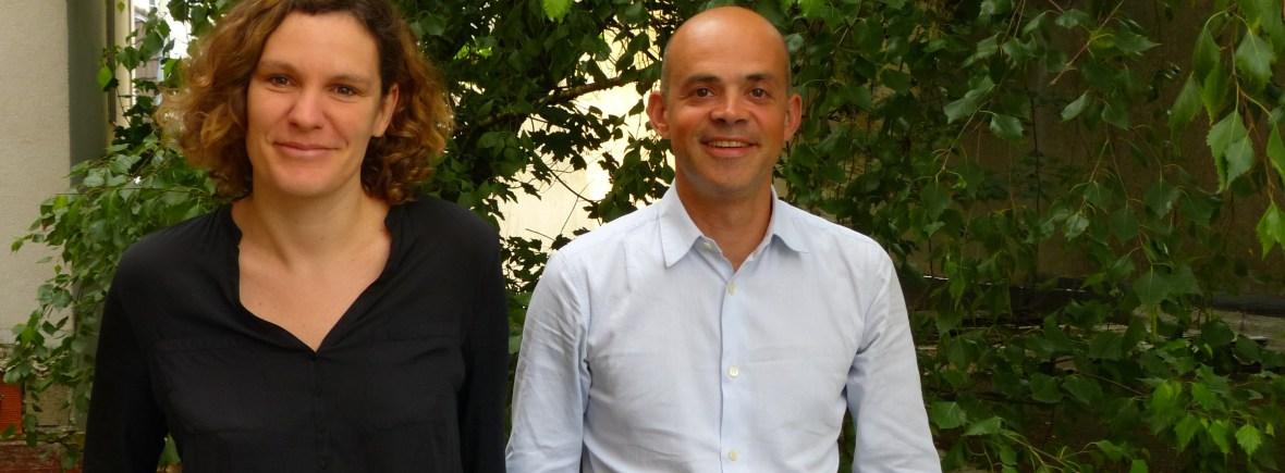 Candice & Clémo fondateurs de l'école