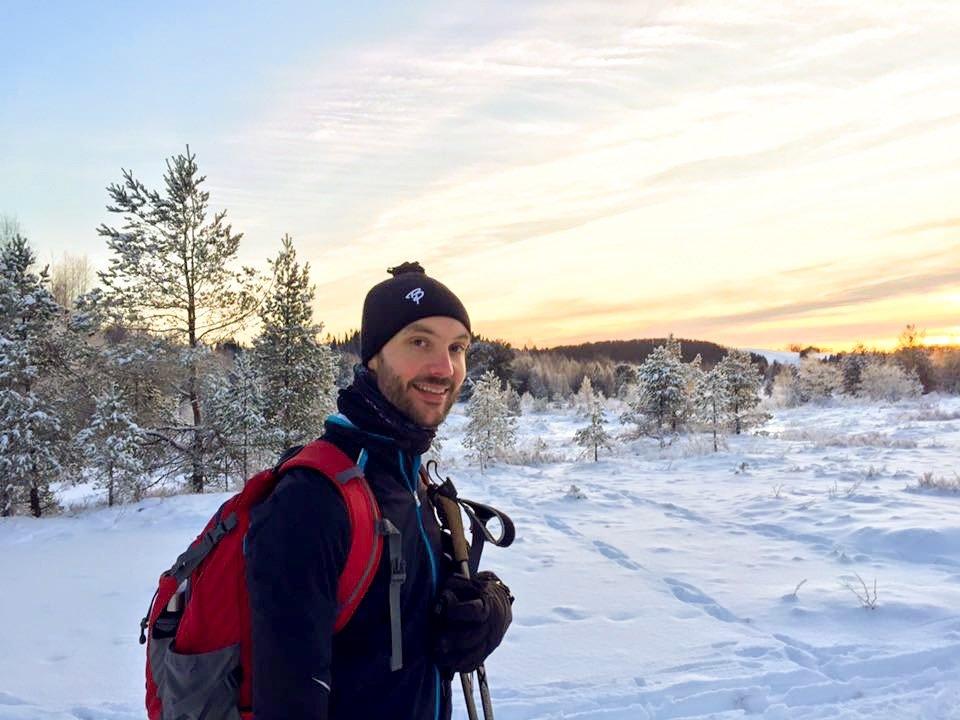 Fantastisk vær på siste juleferiedag i Trøndelag. Godt nytt år!