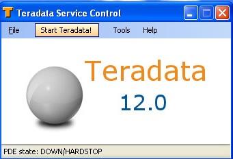 Teradata Service Control