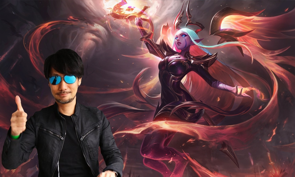 CEO DESEJA QUE KOJIMA DIRIJA GAME NO UNIVERSO DE LEAGUE OF LEGENDS