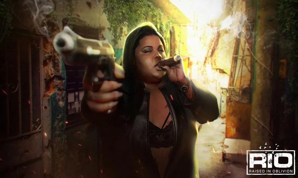 MC CAROL ESTARÁ NO GAME 'RIO – RAISED IN OBLIVION'