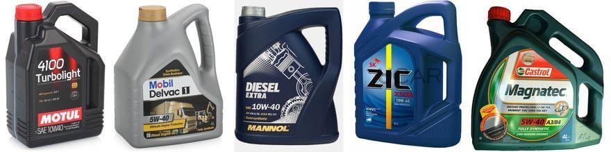 ディーゼルエンジンのための評価油