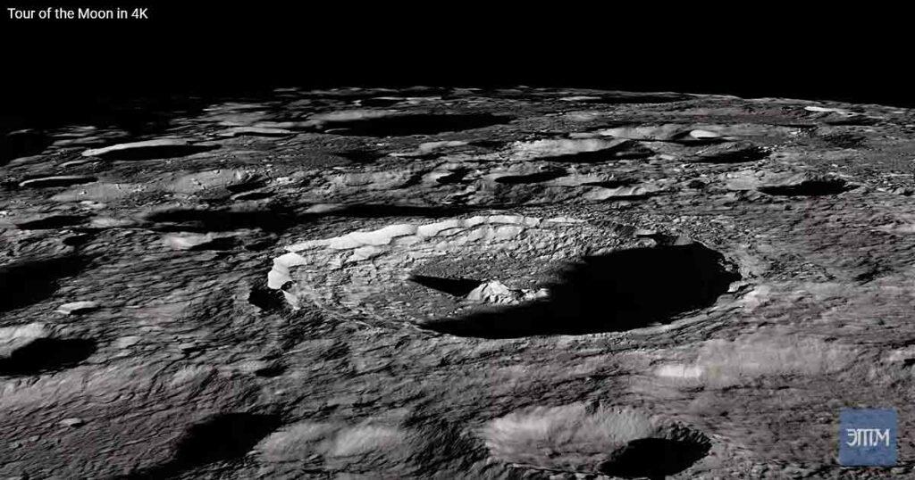 кратер Тихо