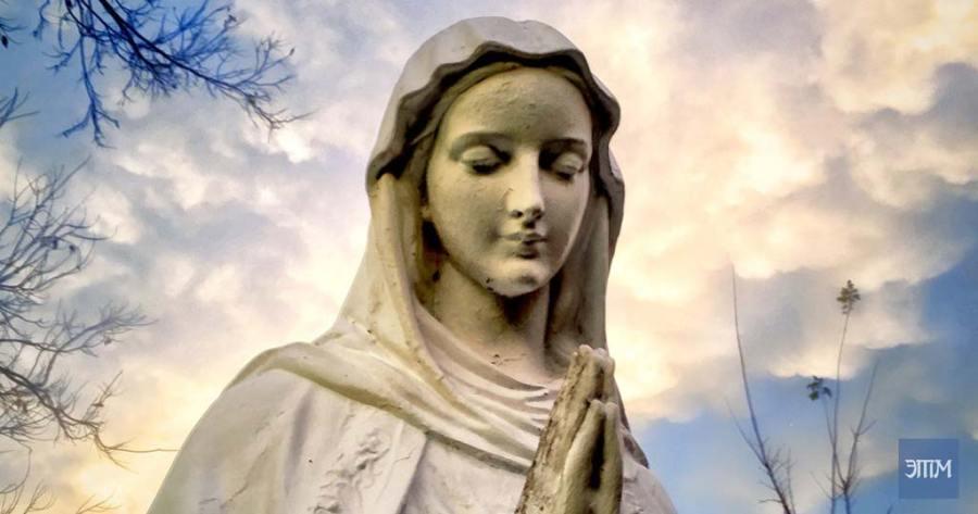 плачущие статуи