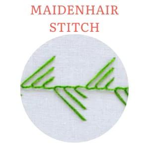 maidenhair stitch