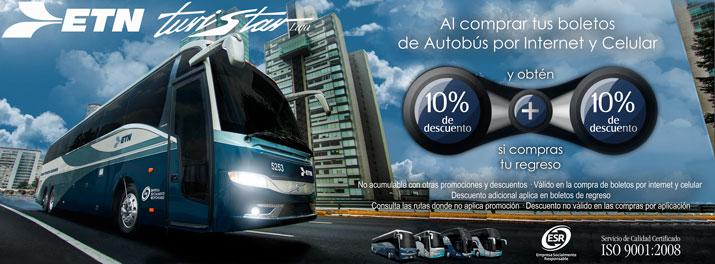 Viaja a Guadalajara con la comodidad de ETN Turistar Lujo.