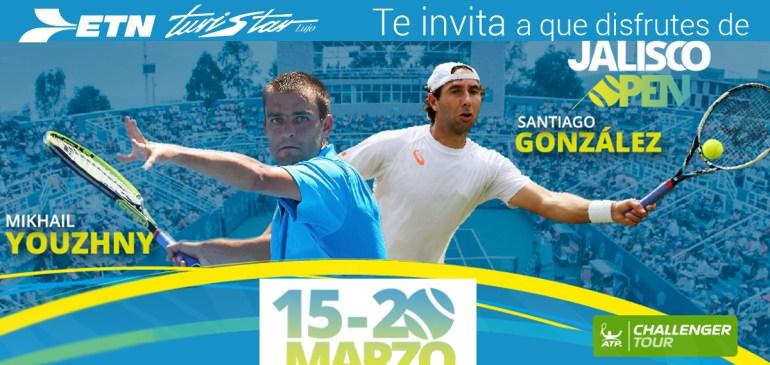 Jalisco Open Bienvenido a la Fiesta del Tenis