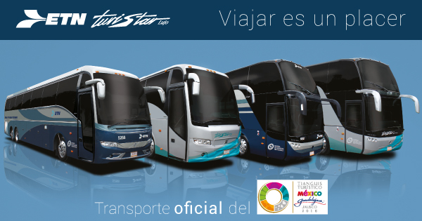 Autobuses ETN Turistar Lujo – Tianguis Turístico 2016