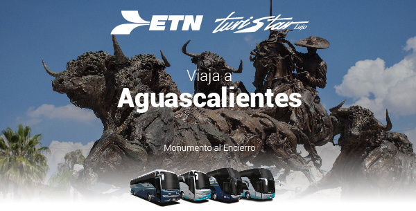 Boletos de Autobús a Aguascalientes