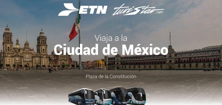 Boletos de Autobús a la Ciudad de México