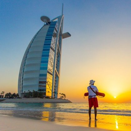 Dubai beachgoers warned against swimming at night