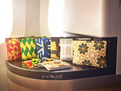Etihad Airways introduces new Business Class amenity kit designs