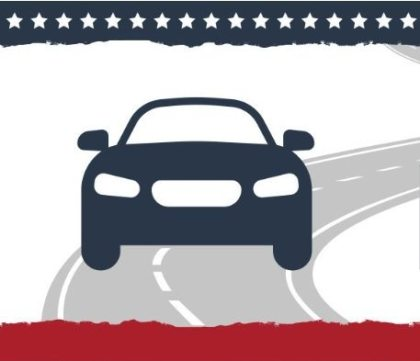 Americans hit the road on Election Day