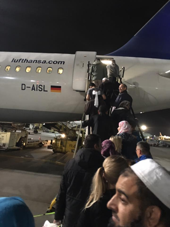 Lufthansa 692 Frankfurt - Amman, a three-star rating