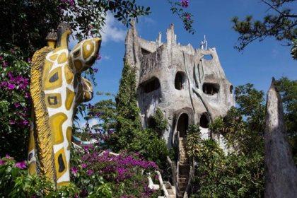 Surreal attraction in Vietnam: Da Lat Crazy House