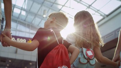 Air Canada makes flying an adventure for kids