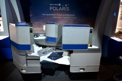 United Airlines rolls-out its new United Polaris business class