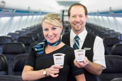 McCafe takes flight with WestJet