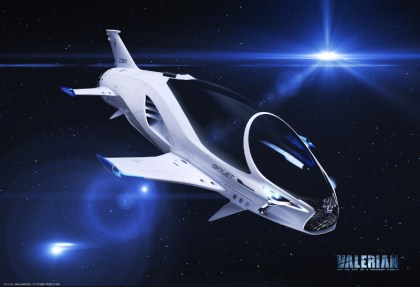 SKYJET: EuropaCorp and Lexus unveil 28th century spacecraft