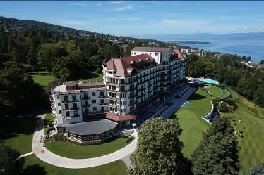 "The Hôtel Royal Evian receives prestigious ""Palace"" distinction"