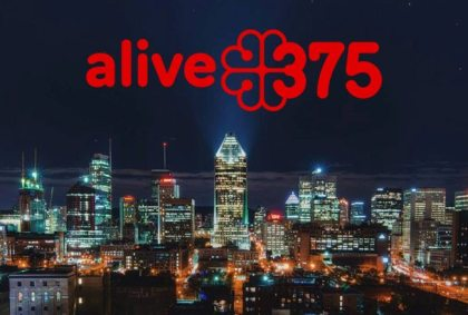 Montréal's 375th anniversary is off to a flying start!
