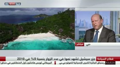 Seychelles Tourism Minister makes news in Arabia