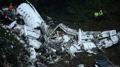 Medellin plane crash: 75 dead – soccer world in shock