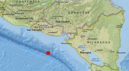 Central America state of emergency: Hurricane Otto & 7.0 earthquake
