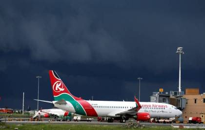 Bad weather affects Kenya Airways flights to Dubai and Europe