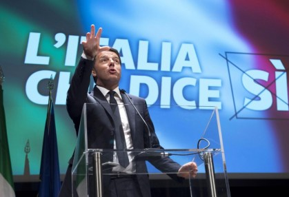 Outcome of Italy's constitutional referendum worrisome issue for EU