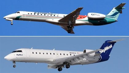 SkyWest reports combined traffic for SkyWest Airlines and ExpressJet Airlines