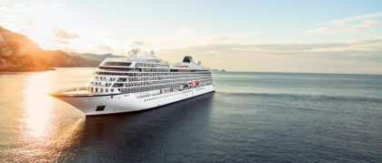 Viking Ocean Cruises celebrates float out of fourth ship