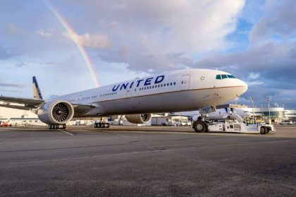 United takes delivery of newest Boeing 777