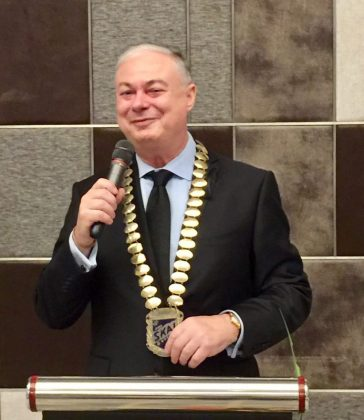 Eric Hallin elected President of SKÅL International Bangkok