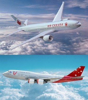 Air Canada and Virgin Australia to introduce codeshare services