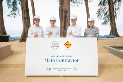 Sangfah Construction and Engineering  engaged to build Phuket's new beachside resort residences