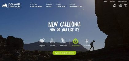 www.newcaledonia.travel: A brand-new web portal for New Caledonia Tourism
