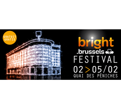 Bright Brussels Festival: Second light festival illuminates city's canal district