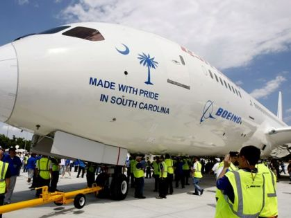 """Boeing: """"Union is not in the best interest of Boeing South Carolina teammates"""""""
