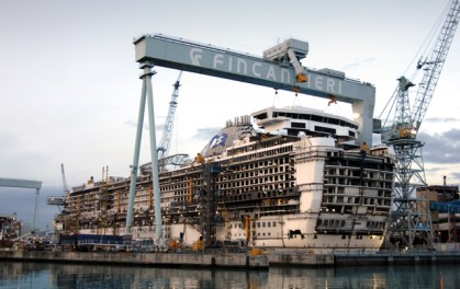 Carnival Corporation to build two new cruise ships with Fincantieri S.p.A.