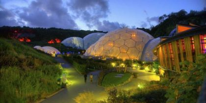 Eden on Earth: A charity, largest rainforest in captivity and voted best UK tourism attraction