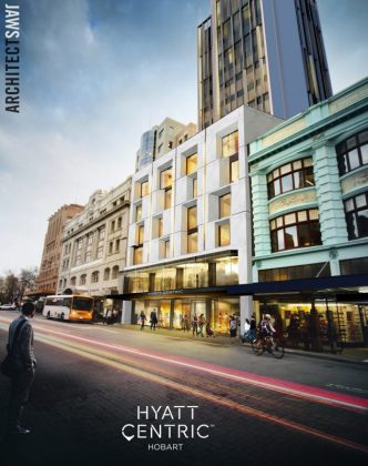 Plans for First Hyatt Centric Hotel in Tasmania, Australia