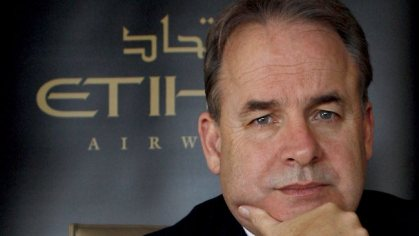 Etihad Airways soon without CEO James Hogan