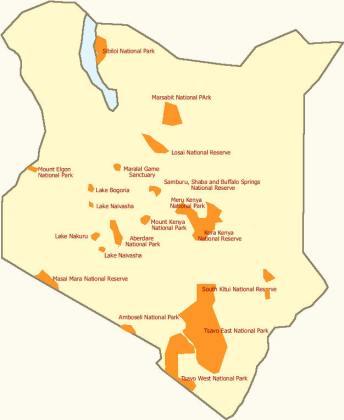 Cash no longer good to enter Kenya's National Parks