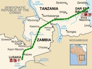 Struggling TAZARA Zambian Tracks  hit by strike