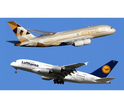 Etihad and Lufthansa extend cooperation with Etihad keeping shares in Air Berlin