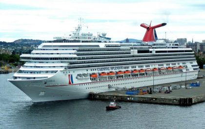 Carnival Splendor to operate Alaska cruise from Long Beach
