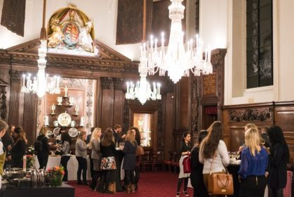 Searcys at Vintners' Hall welcomes London's Destination Management Companies in style